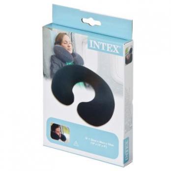 Подушка дорожная под шею INTEX надувная