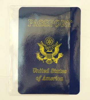 """Обложка для страниц паспорта прозрачная """"Matoon"""""""